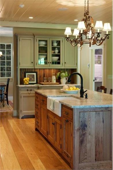 Style choices for creating a barn home pantry