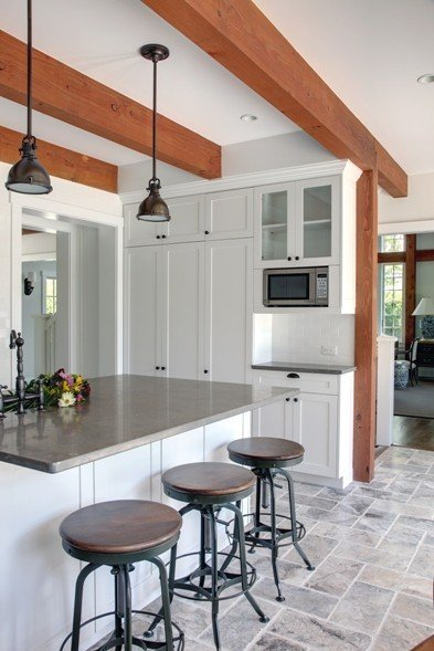 Houzz And Yankee Barn Homes Equal Post And Beam Paradise