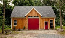 Timber Frame Barn Home Plans