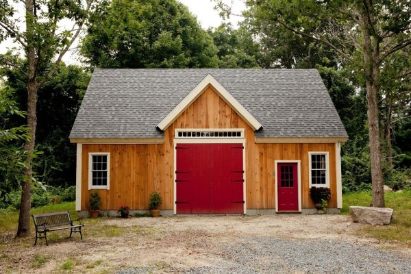 Hinged Barn Doors Exterior