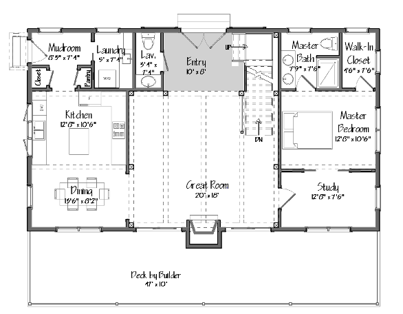 Single Floor Living in a Multilevel Yankee Barn