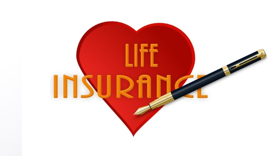 a heart life insurance illustration