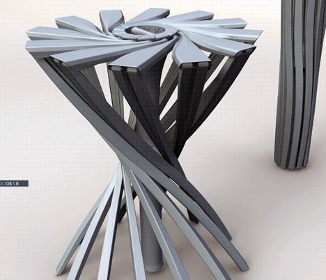 OneShot  Folding Chair by Patrick Jouin  Yanko Design
