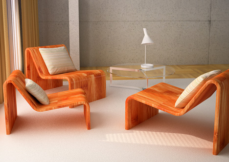 Stackable Seating made with Zero Defects  Yanko Design