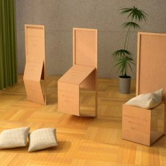 Foldable Chair Plans Recliner Chairs For Elderly Uk More Chairs? No Problem. Let Me Fold Some Up. | Yanko Design