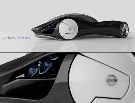 Car of Magnetic Proportions  Yanko Design