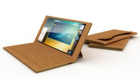Recyclable Paper Laptop by Je Sung Park