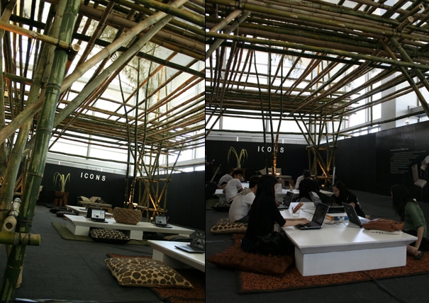 Bamboo Computer Tent  Yanko Design