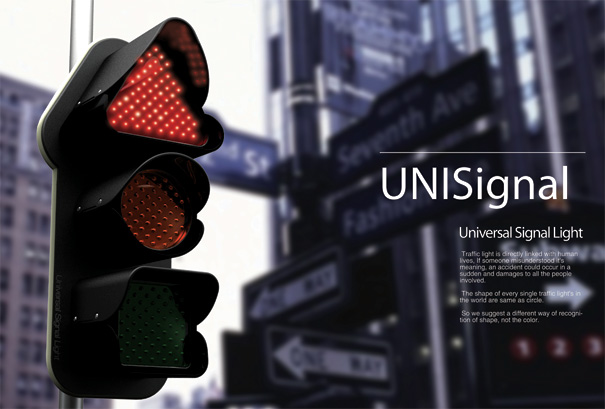 Uni-Signal - Universal Signal Light by Ji-youn Kim, Soon-young Yang & Hwan-ju Jeon