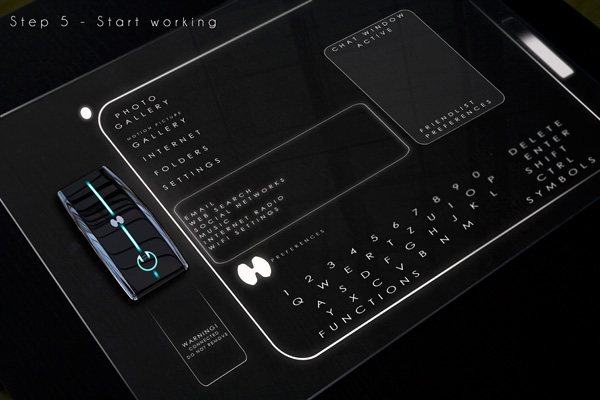 Yanko Design cpu on a table top concept