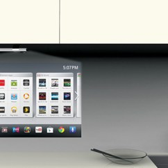 Smart Tv Kitchen Wire Shelving Yanko Design Share