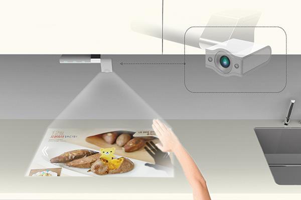 smart tv kitchen sponge holder yanko design