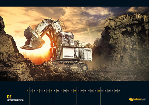 Get Your Heavy Equipment Calendar  Yanko Design