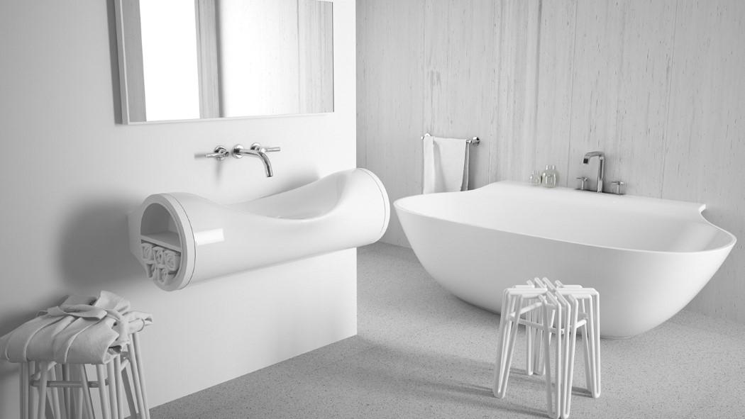 The Sunken Sink Yanko Design