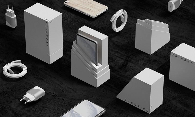 SVPER phone / ID + UI Smartphone