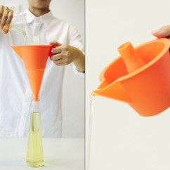 Kitchen Funnel Table For Small 2in1 Yanko Design The Multifunctional Flexi