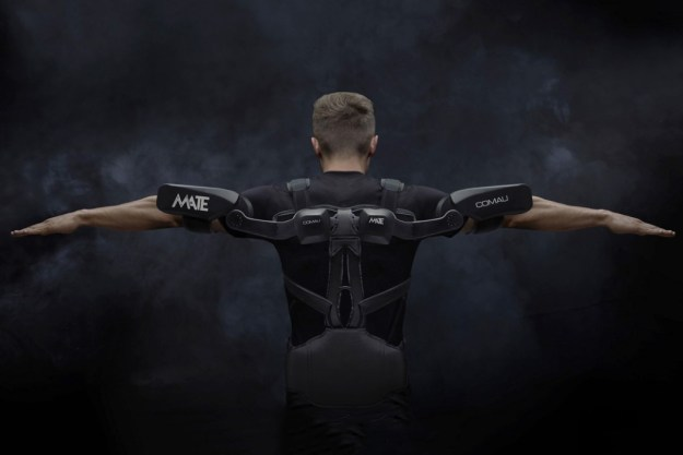 comau_mate_exoskeleton_1 The MATE is a purely mechanical exoskeleton that augments human strength Design