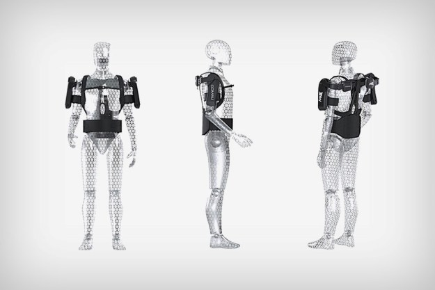 comau_mate_exoskeleton_3 The MATE is a purely mechanical exoskeleton that augments human strength Design