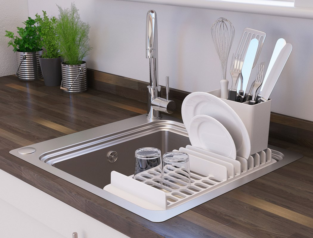 the kitchen sink gets revamped to let