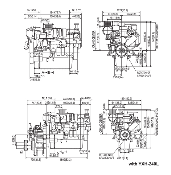 AY SERIES Propulsion Engines (High Speed) Product Concept