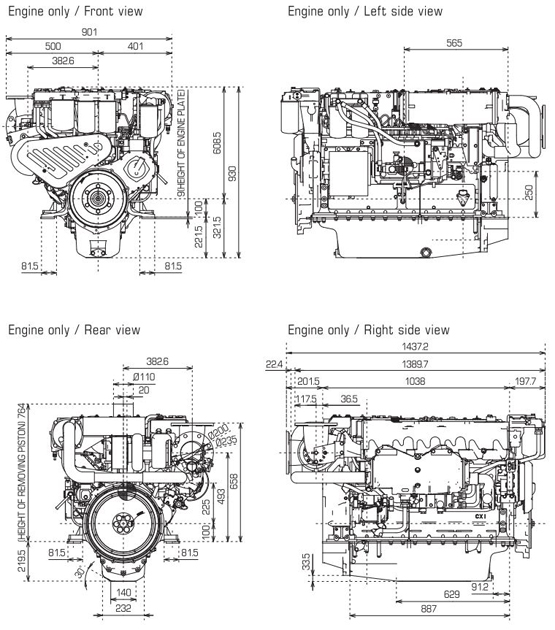 CXB SERIES|Propulsion Engines (High Speed)|Product Concept