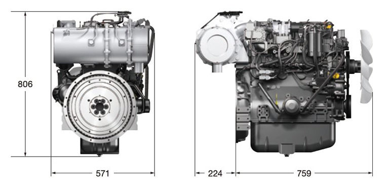 4TNV98C|Vertical Water-cooled Diesel Engines|Products