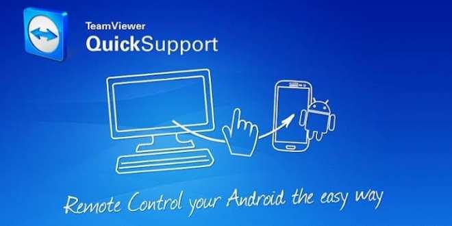 Android Cihazı Bilgisayardan Yönetmek, Android için TeamViewer, Android Uzak Bağlantı, TeamViewer QuickSupport Nedir,