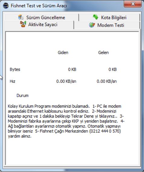 Fishnet Modem Domain Kilidi Versiyon Guncelleme 05