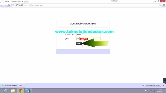 Tp-Link TD864W Kablosuz Modem Kurulumu (2)