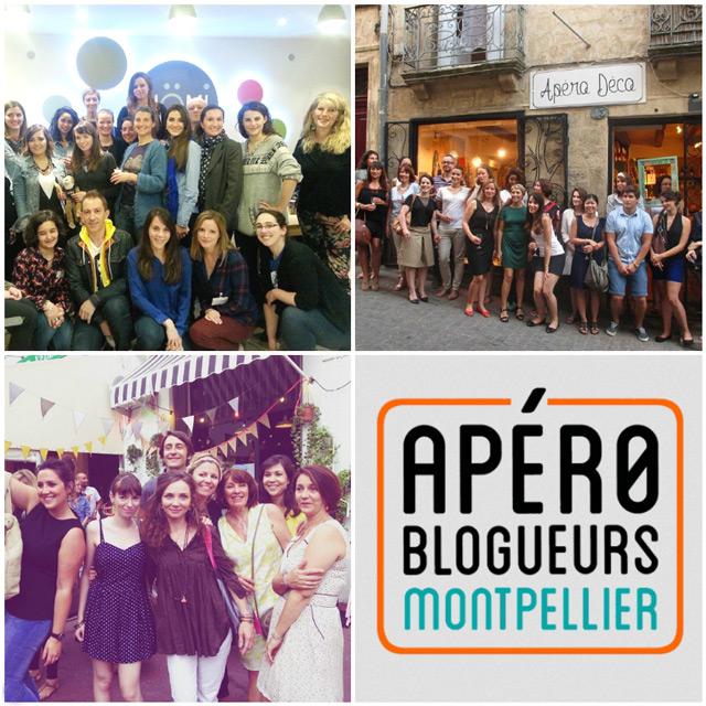 Apéro blog à Montpellier: ambiance!
