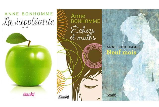 Romans de Anne Bonhomme