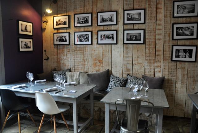 Salle du restaurant biterrois La Maison de Petite Pierre (1)