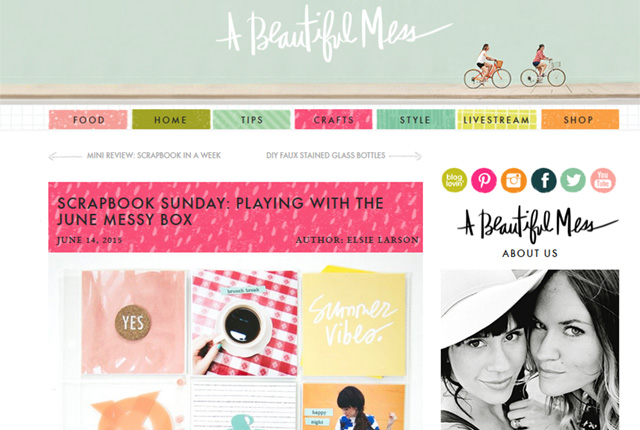 A Beautiful Mess: un blog que j'adore!