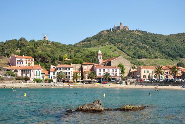 Visite de Collioure dans le Roussillon