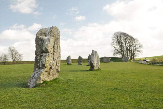 Cercle de pierres d Avebury dans le Wiltshire (1)