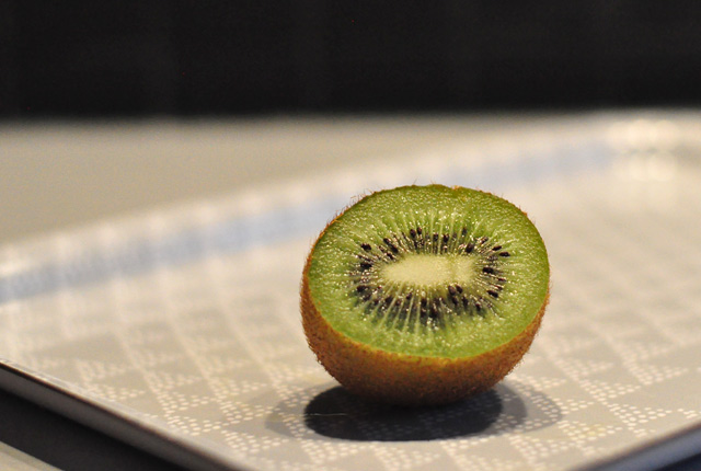 DIY masque au kiwi