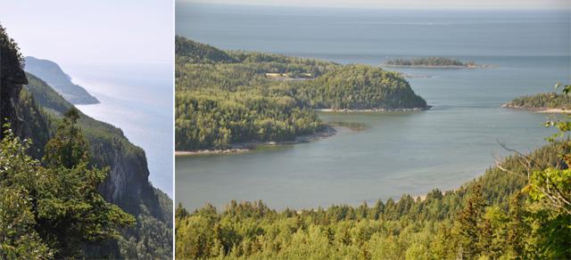 Du haut du Pic Champlain