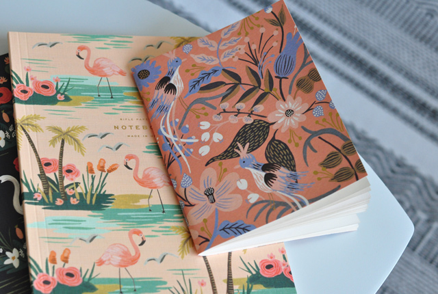 Les jolis carnets de Rifle Paper Co