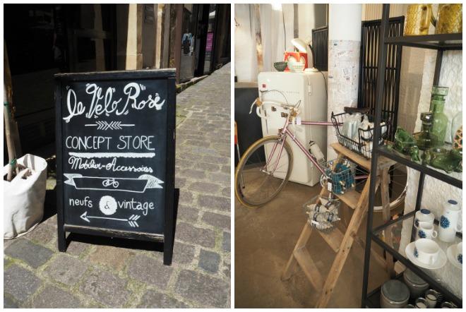 Le Vélo Rose, enseigne de Metz