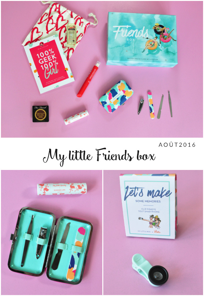My Little box - Friends - aout 2016