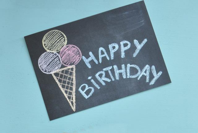 Carte d'anniversaire - Papeterie