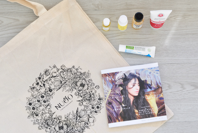 Mon avis sur la NuooBox - box beauté bio et naturelle - Blog lifestyle & girly Birds and Bicycles