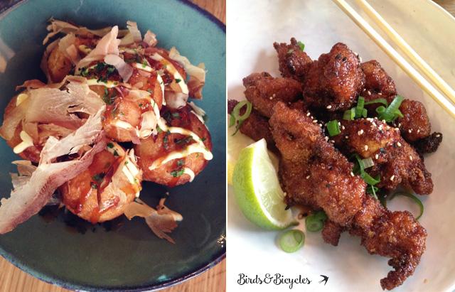 Takoyaki à Strasbourg et spécialité de poulet frit coréen