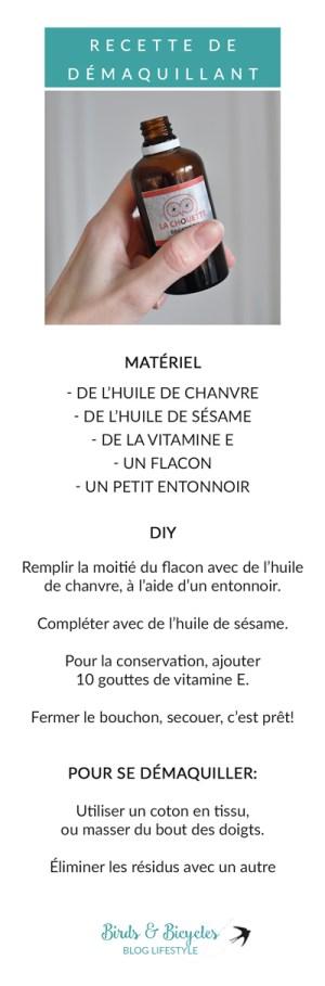 DIY recette cosmétique: démaquillant à l'huile de sésame!