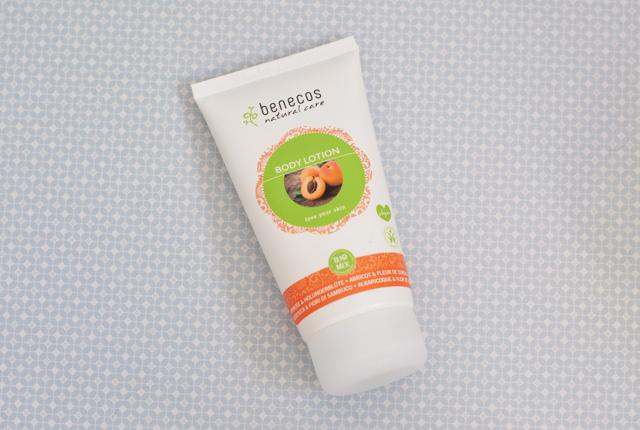 Avis crème corps Benecos abricot
