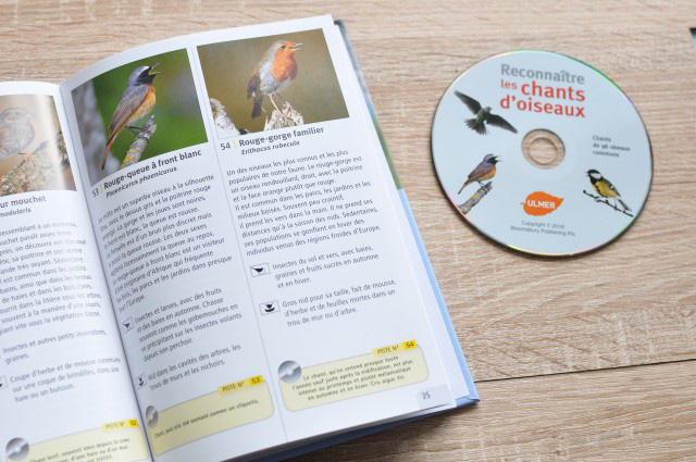 Un livre pour apprendre à reconnaître le chant des oiseaux (avec un CD!)
