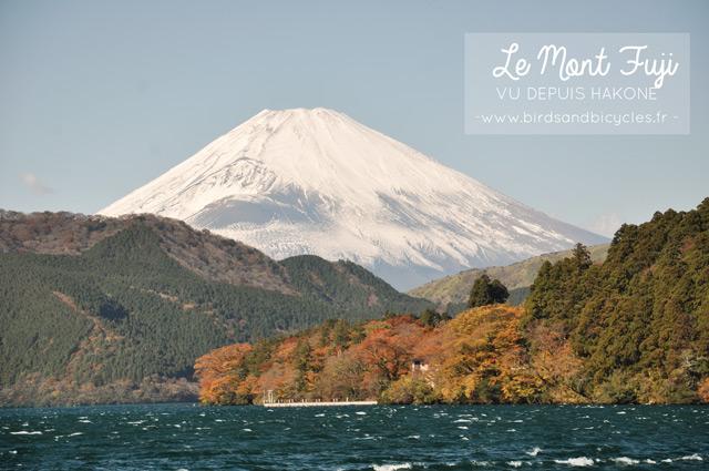 Mont fuji vu depuis Hakone