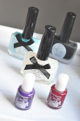 Des vernis à ongles de différentes marques: astuces pour décrypter leur compo!