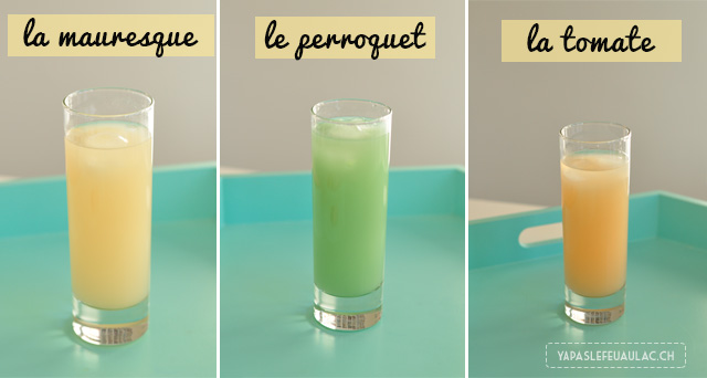 Cinq fa ons d 39 aromatiser son pastis for Cocktail perroquet