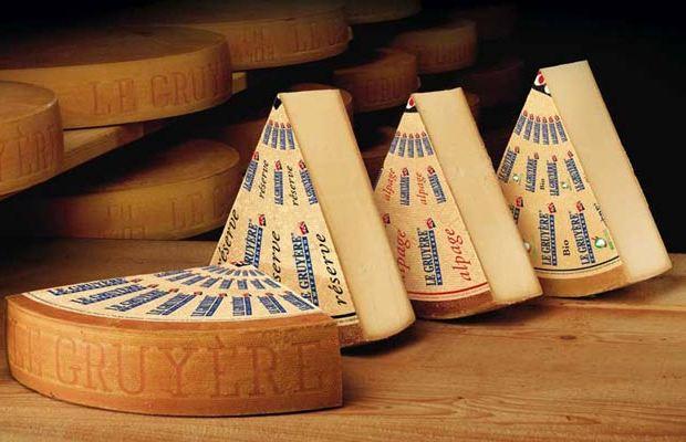 Photo officielle du célèbre fromage